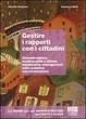 Cover of Gestire i rapporti con i cittadini