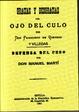 Cover of GRACIAS Y DESGRACIAS DEL OJO DEL CULO