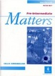 Cover of Pre-Intermediate Matters. Workbook with key.