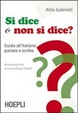 Cover of Si dice o non si dice?