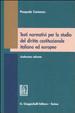 Cover of Testi normativi per lo studio del diritto costituzionale italiano ed europeo