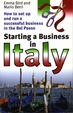 Cover of Starting a Business in Italy