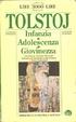 Cover of Infanzia, Adolescenza, Giovinezza