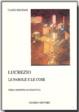 Cover of Lucrezio