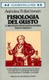 Cover of Fisiologia del gusto ovvero meditazioni di gastronomia trascendente