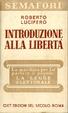 Cover of Introduzione alla libertà