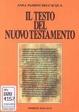 Cover of Il testo del Nuovo Testamento