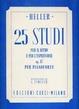 Cover of 25 studi per il ritmo e per l'espressione