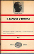 Cover of Il sangue d'Europa