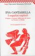 Cover of I supplizi capitali. Origine e funzioni delle pene di morte in Grecia e a Roma