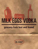 Cover of Milk Eggs Vodka