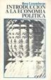 Cover of Introducción a la economía política