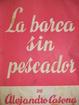 Cover of La barca sin pescador
