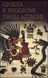 Cover of Civiltà e religione degli Aztechi