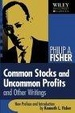 Cover of Common Stocks and Uncommon Profits and Other Writings