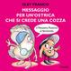 Cover of Messaggio per un'ostrica che si crede una cozza