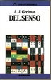 Cover of Del senso