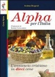 Cover of Alpha per l'Italia. L'annuncio cristiano in dieci cene