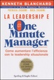 Cover of La Leadership e l'One Minute Manager