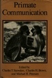 Cover of Primate Communication