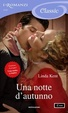 Cover of Una notte d'autunno