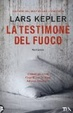 Cover of La testimone del fuoco
