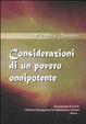 Cover of Considerazioni di un povero onnipotente