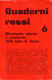 Cover of Quaderni rossi 6