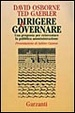 Cover of Dirigere e governare