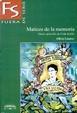 Cover of Matices de la Memoria