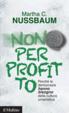 Cover of Non per profitto