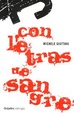 Cover of Con letras de sangre