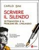 Cover of Scrivere il silenzio