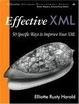 Cover of Effective XML