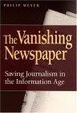 Cover of The Vanishing Newspaper