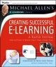 Cover of Michael Allen's E-Learning Library