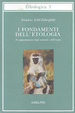Cover of I fondamenti dell'etologia