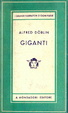 Cover of Giganti