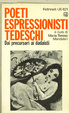 Cover of Poeti espressionisti tedeschi