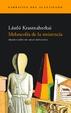 Cover of Melancolía de la resistencia