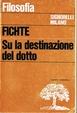 Cover of Su la destinazione del dotto