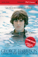 Cover of George Harrison: living in the material world. DVD. Con libro