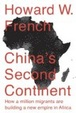 Cover of China's Second Continent