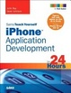 Cover of Sams Teach Yourself IPhone Application Development in 24 Hours