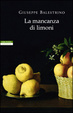 Cover of La mancanza di limoni
