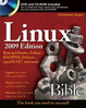 Cover of Linux Bible 2009 Edition
