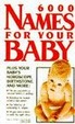 Cover of 6000 Names For Your Baby