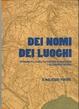 Cover of Dei nomi dei luoghi