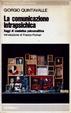 Cover of La comunicazione intrapsichica