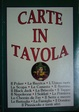 Cover of Carte in tavola